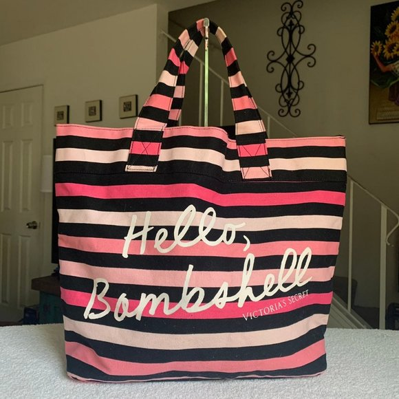 Hello Bombshell Victoria's Secret Tote